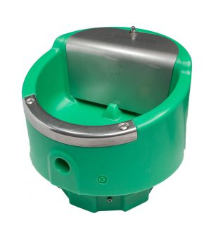 Heatable drinking bowls and tubs