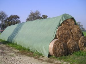 Straw Bale Protection