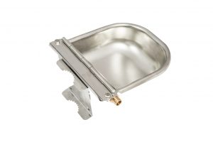 Bowl Stainless steel with float