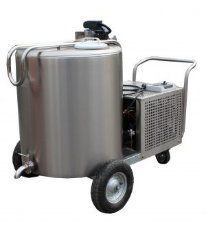 LAC-milk tank on the wheels