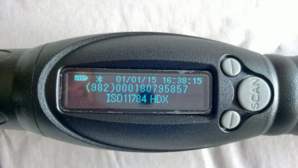 Sauvalukija FL-280 RFID e-korvamerkeille