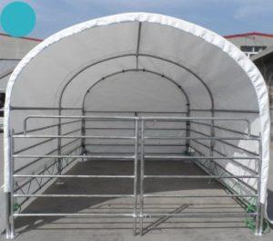 LAC calf tent