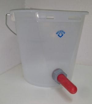Teat Bucket Transparent