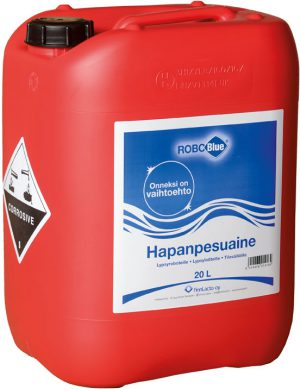 RoboBlue® – Hapanpesuaine