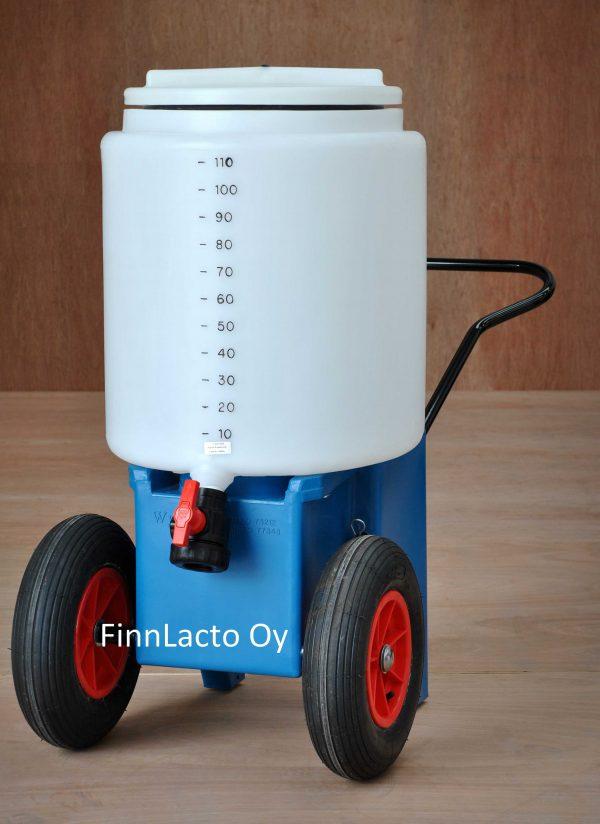 Siirrettävä maitosäiliö 110 litraa