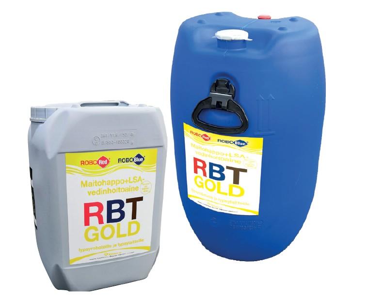 RBT Gold – Maitohappo ja salisyylihappo (LSA)
